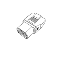 Gscan cable Toyota 17 pin round